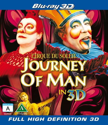 Cirque Du Soleil – Journey of man 3D
